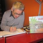 Denis Vierge en dédicace à la librairie BD Fugue de Bordeaux.
