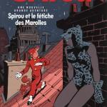 Visuel et titre annoncé pour le début de la prépublication (Spirou n° 3949)