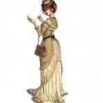 Margot en illustration de 4ème de couverture, pour le tome 3.