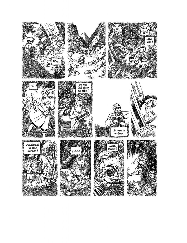 Planche originale de la page 29