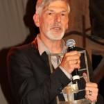 Yslaire ému par la remise de ce prix, photo de Jean-Jacques Procureur.