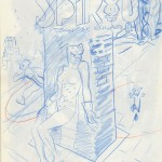 Crayonné par O. Schwartz (Dupuis, 2014)