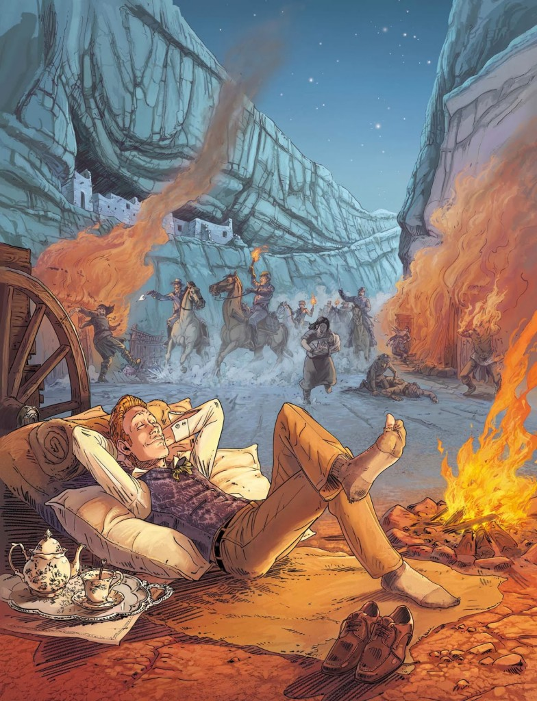 Illustration définitive pour le tome 3 (2014)
