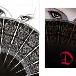 Encrage et visuel final pour le tome 2 (Delcourt, 2011)