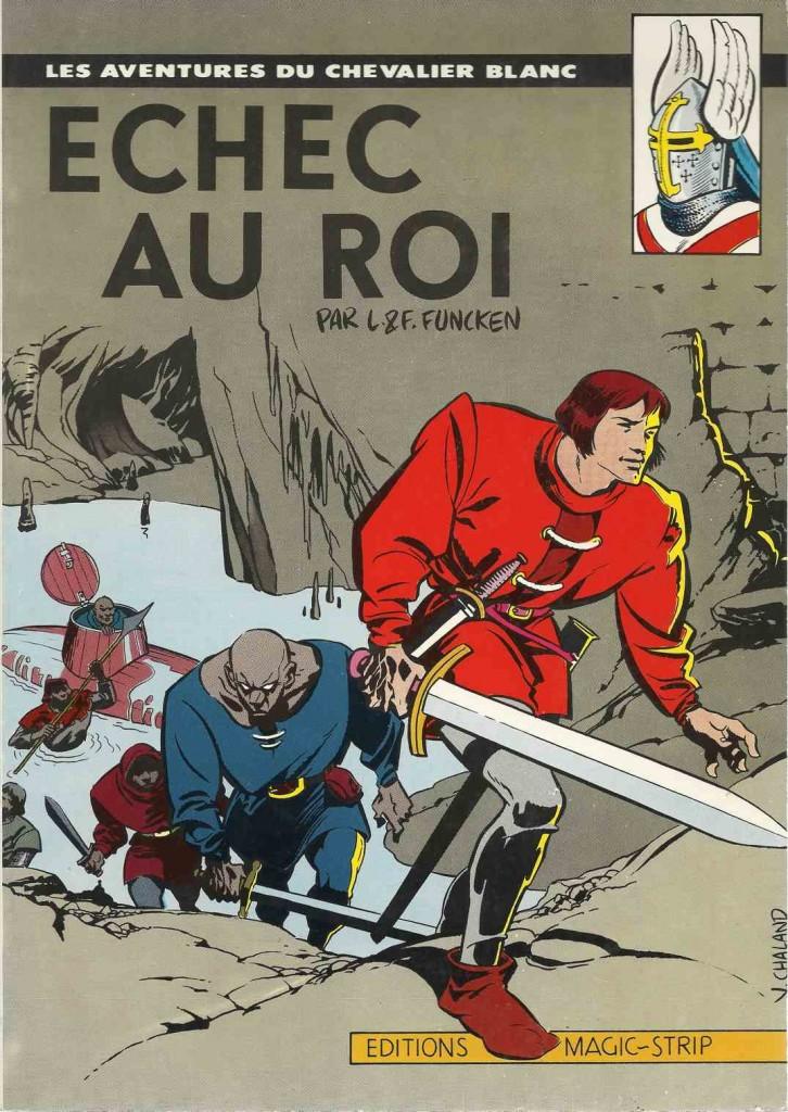 Couverture d'Yves Chaland pour l'une des rééditions...