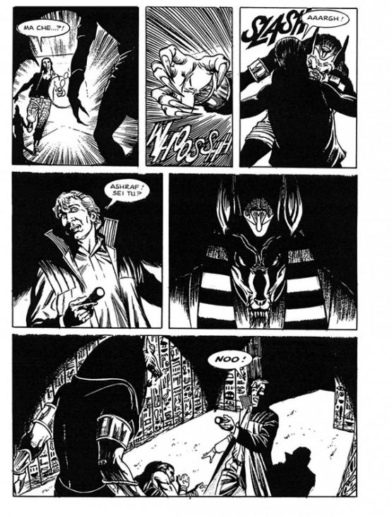 « Dampyr » vu par Frabrizio Russo, au n° 169.