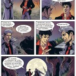 « Dylan Dog » vu par Ivan Calcaterra dans Dylan Dog Color Fest n° 12.