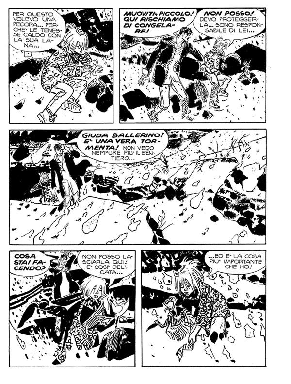 « Dylan Dog » vu par Piero Dall' Agnol dans Super Book Dylan Dog n° 62.