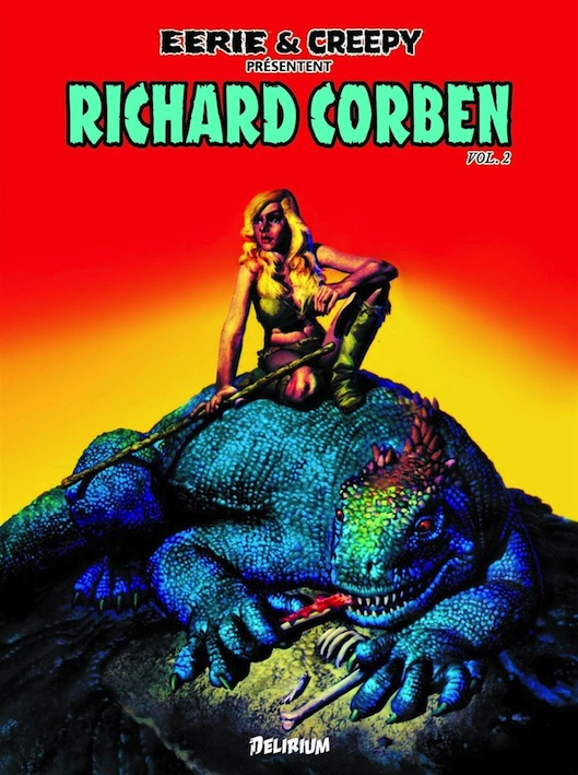 Eerie Creepy Corben 2 cover