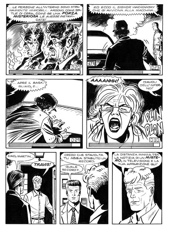 « Martin Mystère » vu par Fabio Grimaldi dans le n° 332.