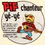 PIF 1238 - rond chanteur yé-yé