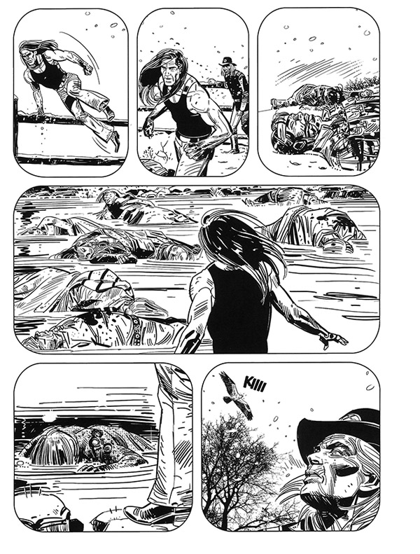 « Saguaro » vu par Luigi Siniscalchi, au n° 24.