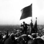 Le 25 mai 1913, Jaurès prononce un discours au Pré-Saint-Gervais (Photo d'Henri Roger/DR.)