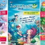 Séries d'affiches réalisées dans le cadre de Japan Expo