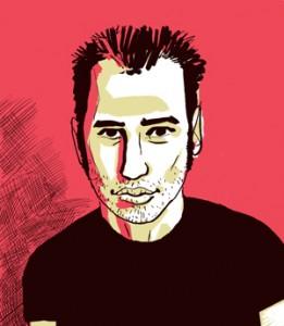 Un autre autoportrait d'Anthony Pastor.