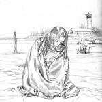 Crayonné du visuel définitif pour le tome 2 (Dargaud 2014)