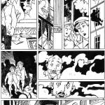 """Extrait de """"Le Nom du père"""" : planche 44 à l'encre de Chine par Moynot (1992)"""