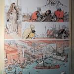 Recherches graphiques et mise en couleurs de la planche 53 du tome 1 par Matteo (2013)