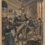 Attentat de l'hôtel Terminus, Le Petit Journal Illustré, 26 février 1894.
