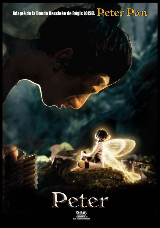 Affiche pour Peter Pan le film (N. Duval)