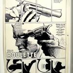 La page 1 du n° 191 par Frank Miller & Terry Austin.