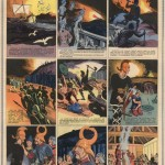 Une page de « Ragnar le Viking » par Eduardo Teixeira Coelho dans Vaillant.