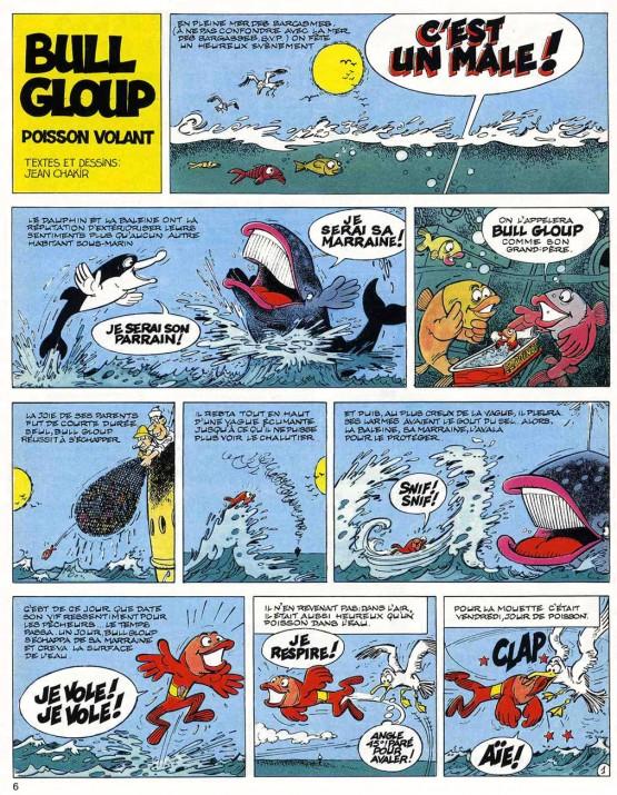 « Bull Gloup » par Jean Chakir.