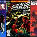 Wolverine n° 2, Elektra dans Daredevil n° 168, Ronin n° 1.