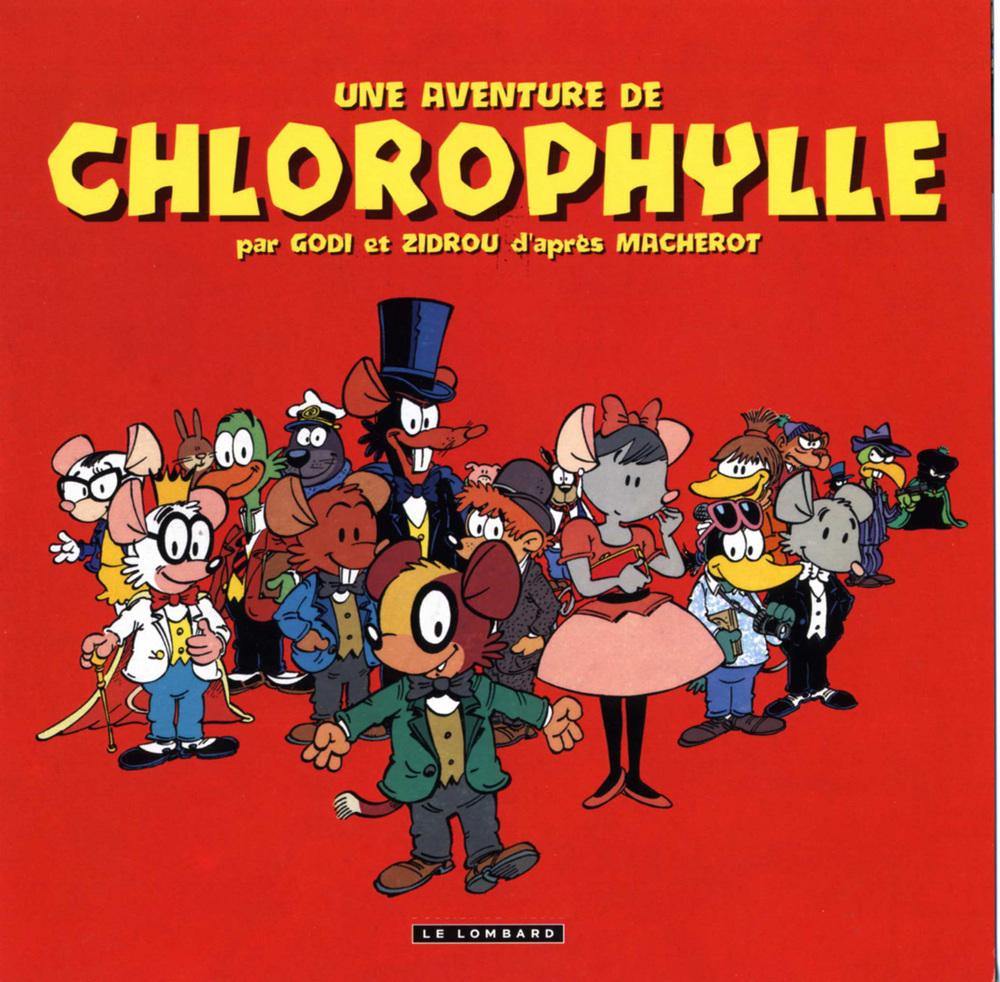Chlorophyle par Godi