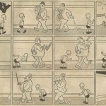 « Henry » par Carl Anderson (« Henri », créé le 19 mars 1932) dans le n° 155 du Journal de Mickey (daté du 3 octobre 1937).