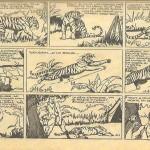 « Jim La Jungle » (« Jungle Jim », créé le 7 janvier 1934) apparaît dans Le Journal de Mickey du n° 1 au n° 361 du 14 décembre 1941.