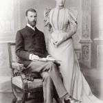 Le grand duc Sergueï et son épouse la grande-duchesse Élisabeth Fiodorovna surnommée « Ella »