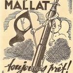 Illustration publicitaire pour une revue scoute, en 1939.
