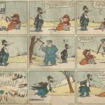« P'tit Jules » (« Shorty », créé vers 1934) est publié dans le Journal de Mickey du n° 61 du 15 décembre 1935 au n° 95 du 9 août 1936.