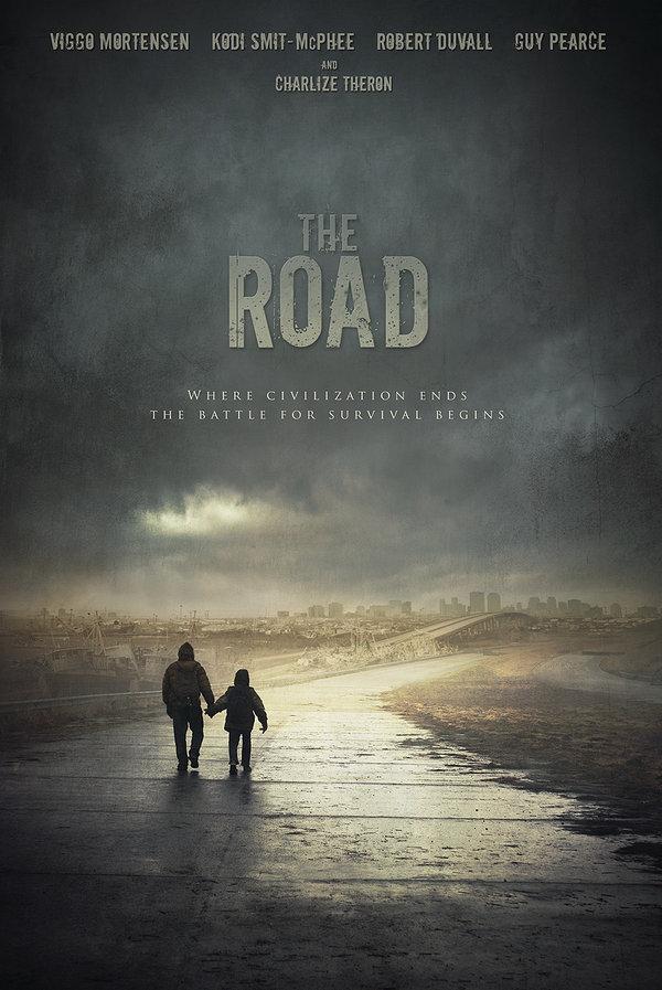 Différentes affiches pour le film La Route (2009)