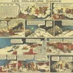 « Les Malheurs d'Annie » (« Little Annie Rooney », créé en 1927) est publié dans la première série du Journal de Mickey du n° 1 au n° 296 du 16 juin 1940.