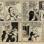 « Luc Bradefer » (« Brick Bradford », créé le 21 août 1933) est publié dans le Journal de Mickey du n° 80 du 26 avril 1936 au n° 102 du 27 septembre 1936.