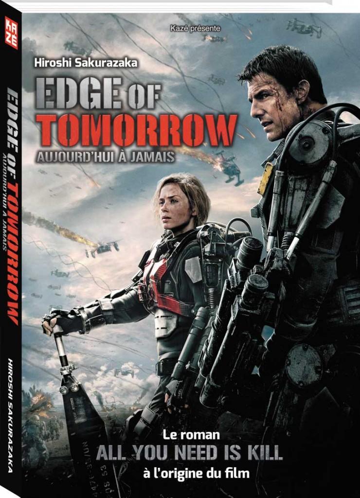 Le roman reprenant l'affiche du film en guise de couverture.