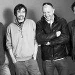 Les différents auteurs du « Joe Bar Team » : Henri Jenfèvre, Pat Perna, Bar2 et Fane.