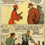 « Marc Luron » (« Curley Harper » , créé en 1935) est publié dans la première série du Journal de Mickey du n° 198 du 31 juillet 1938 au n° 361 du 14 décembre 1941.