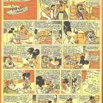 Le premier « Mickey à travers les siècles » par Ténas et Pierre Fallot.