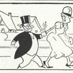 « Colonel Potterby and the Duchess » (« Monsieur Pivoine et la duchesse », créé en 1934) est présent dans certains n° de la première série du Journal de Mickey.