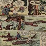 « Richard le téméraire » (« Tim Tyler's Luck », créé le 13 août 1928) est publié dans la première série du Journal de Mickey du n° 101 du 20 septembre 1936 au n° 361 du 14 décembre 1941.