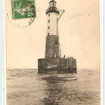 Le phare d'Ar-Men (photo et plan en coupe)