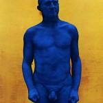 Portrait-relief Arman par Yves Klein (1962)
