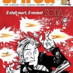 Résurrection de Soda : couverture de Spirou n° 3989 (24 au 30 septembre 2014) et recherches par Dan Verlinden