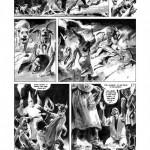 L'une des superbes planches de « Plus Fort que la haine » par René Follet et Pascal Bresson, aux éditions chez Glénat.