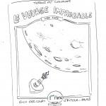 Recherches pour la couverture et couverture pour la version Forbidden Zone (album limité à 110 ex. - dim. : 320 mm x 230 mm)