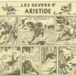 « Les Revers d'Aristide » dans Feu sacré (en 1949).