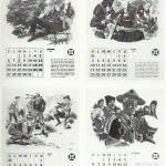 « La Vie de Baden-Powell », calendrier des scouts belges de 1957.